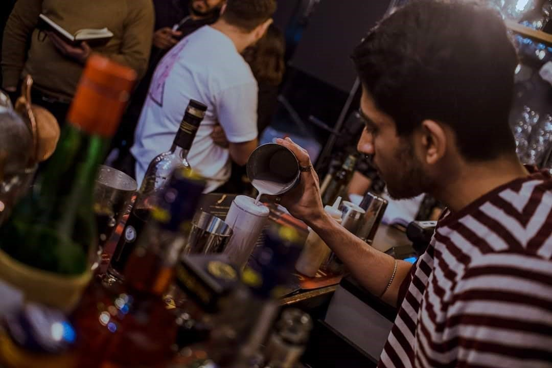 Amant Pablo Avinash, bar supervisor at Pleased To Meet You