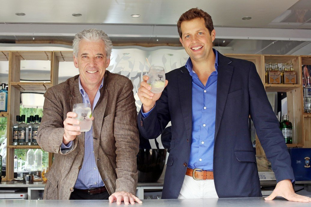 Fever-Tree founders Tim Warrillow and Charles Rolls