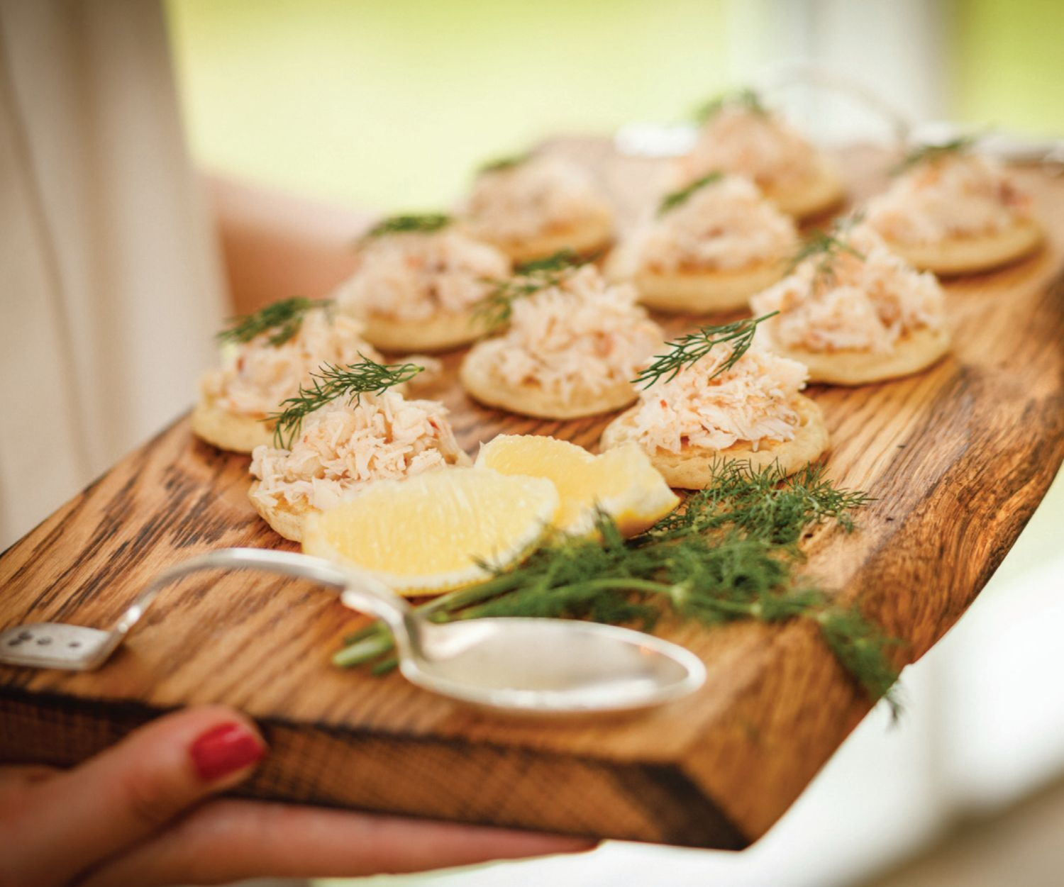 curried-crab-blinis
