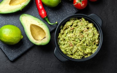 Best Ever Guacamole with Avocado & Chilli