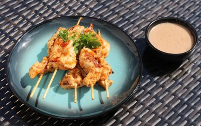Paul Gayler's Chicken Satay Skewers